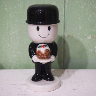 Wadeフレッド陶器フィギュア「Fred's Christmas Pudding」