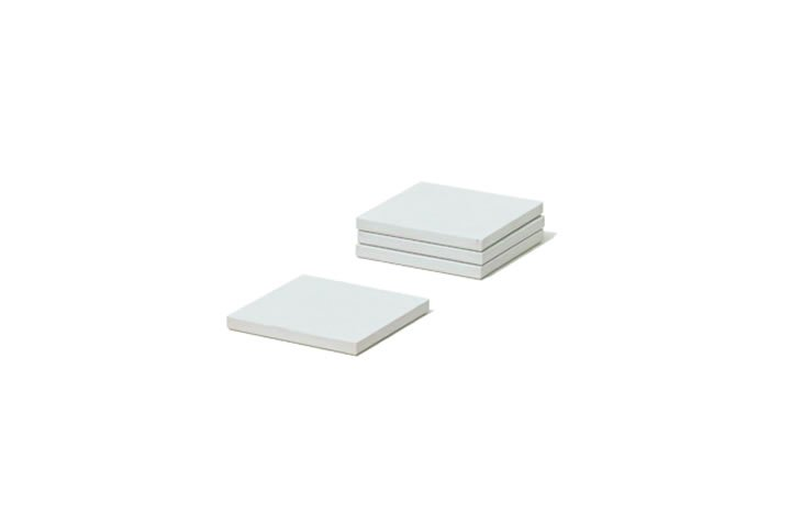 soil / ソイル / COASTER large square 4P (white)