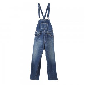 SEA Vintage High-rise Center Press Overall