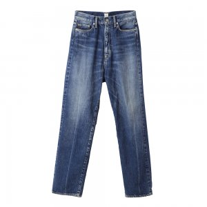 SEA Vintage Extra High-rise Center Press Original Selvedge Denim Pants