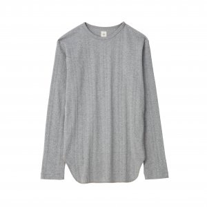 [SALE] SEA Vintage Long sleeve High Gauge Ribbed T-shirt