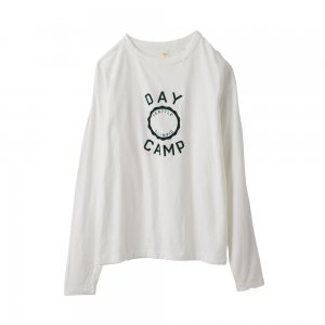 [SALE] SEA Vintage �DAY CAMP� Ripped  Long sleeve T-shirt