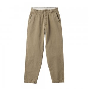 SEA Vintage Hi-rise Tapered Selvedge West-point Chino Trousers