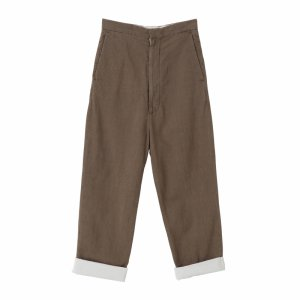 SEA BINGOFUSHIORI High-rise Trousers