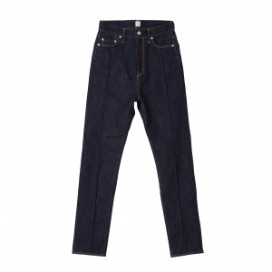 SEA Extra High-rise Pin Tuck Original Selvedge Slim Denim Pants
