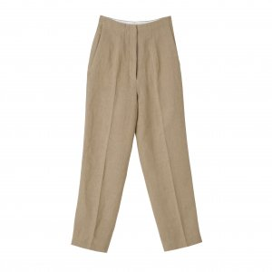 SEA Vintage Heavy Linen Center Press Trousers