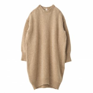 SEA Wool Cashmere Crewneck Dress
