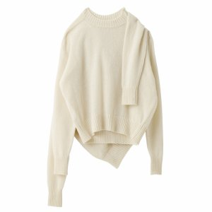 SEA Wool Cashmere 2-in-1 sweater