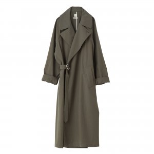 SEA Typewriter cloth Oversized Spring Coat