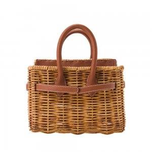 【先行予約商品】SEA Rattan Basket Bag (Small)