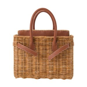 【先行予約商品】SEA Rattan Basket Bag (Medium)