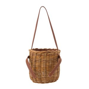 【先行予約商品】SEA Rattan Round Basket Bag