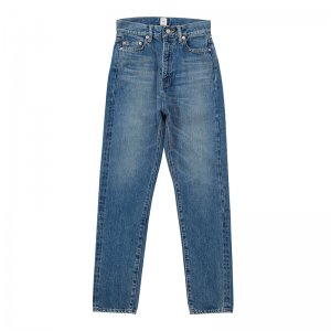 SEA Vintage High-rise Tapered Slim Original Selvedge Denim Pants