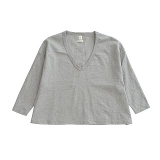 [SALE] SEA Vintage Vneck Loose-BIG-Long sleeve Tshirt