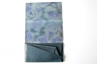 所作 LONG WALLET limited(dark navy×睡蓮)