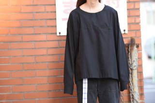 house of the very island's シャツプルオーバー black