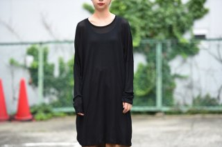 house of the very island's 胸ポケットゆったりカットソー black