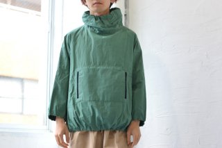 KAIKI SAMPLE SALE 玉縁パーカー green