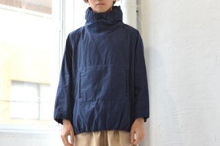 KAIKI SAMPLE SALE 玉縁パーカー navy