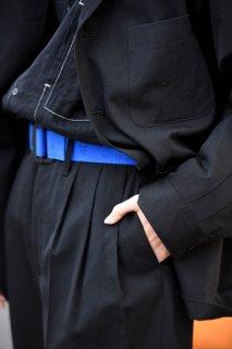 ESSAY ロングベルト blue