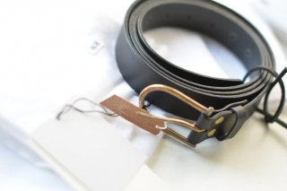 nejicommu MATTER LONG BELT 01 black