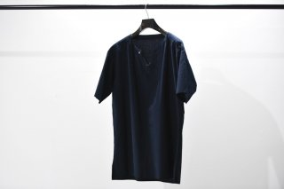 theBang by theSakaki 織物T S/S navy