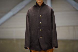 theSakaki Stadium Jumper brown/brown