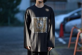YANTOR Mandala embroidery Pullover / black