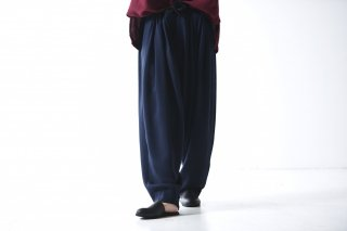 YANTOR Triace 6tuck Pants / navy