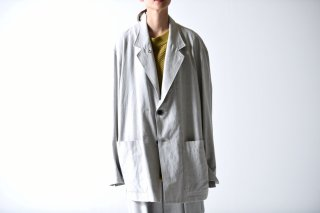 ESSAY DRAPE JACKET light gray