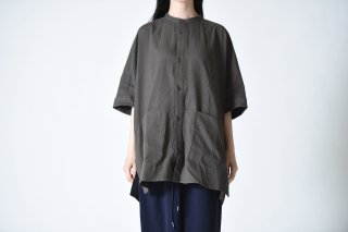 YANTOR Amunzen  Box Shirts charcoal gray