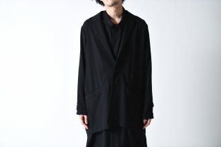 BISHOOL wool gabardine wide jacket