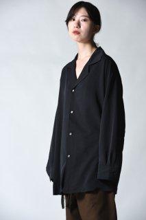 Edwina Horl  開襟ビッグシャツ black