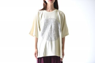 YANTOR Geometric Embroidery C&S / off white