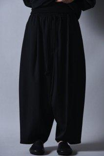 BISHOOL Wool Gabardine Cocoon Pants