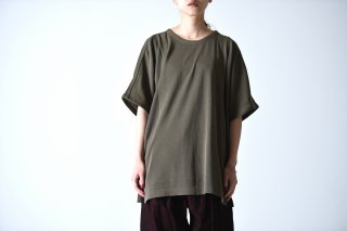 YANTOR High Gauge Cotton Knit Cut Sewn khaki