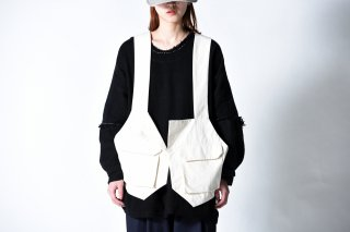 My Beautiful Landlet  Bafu Cottonバックパックベスト OVIE STUDIO limited  kinari