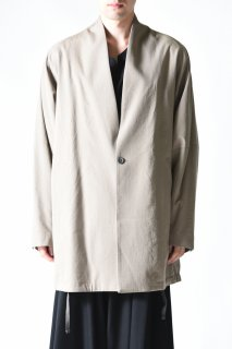 YANTOR Wash Wool Fall Jacket beige