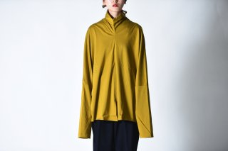 ATHA OVERSIZED KAFTEN HIGH NECK L/S SHIRTS Yellow