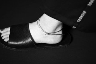 BISHOOL Hand Craft Stainless Anklet 01