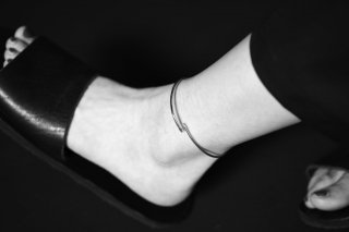 BISHOOL Hand Craft Stainless Anklet 02
