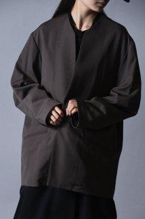 BISHOOL Wool Gabardine 01 Rapel Jacket Mocha
