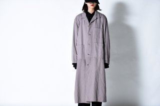 tac:tac COTTON WOOL MILITARY OVER COAT beige