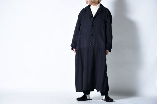 tac:tac COTTON WOOL MILITARY OVER COAT black