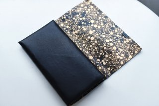所作 LONG WALLET limited ( black / gold quartz  )