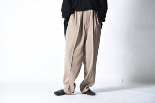 ATHA DRY TOUCH TAPERD EASY TROUSERS GREISE