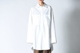 ATHA OVERSIZED SHIRTS white