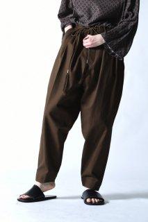 Edwina Horl 定番紐パンツ brown