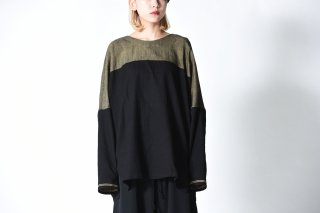 YANTOR Boder Jacquard Pullover / yellow