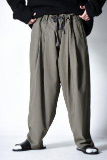 YANTOR Torowool 2tuck Fall Pants olive gray